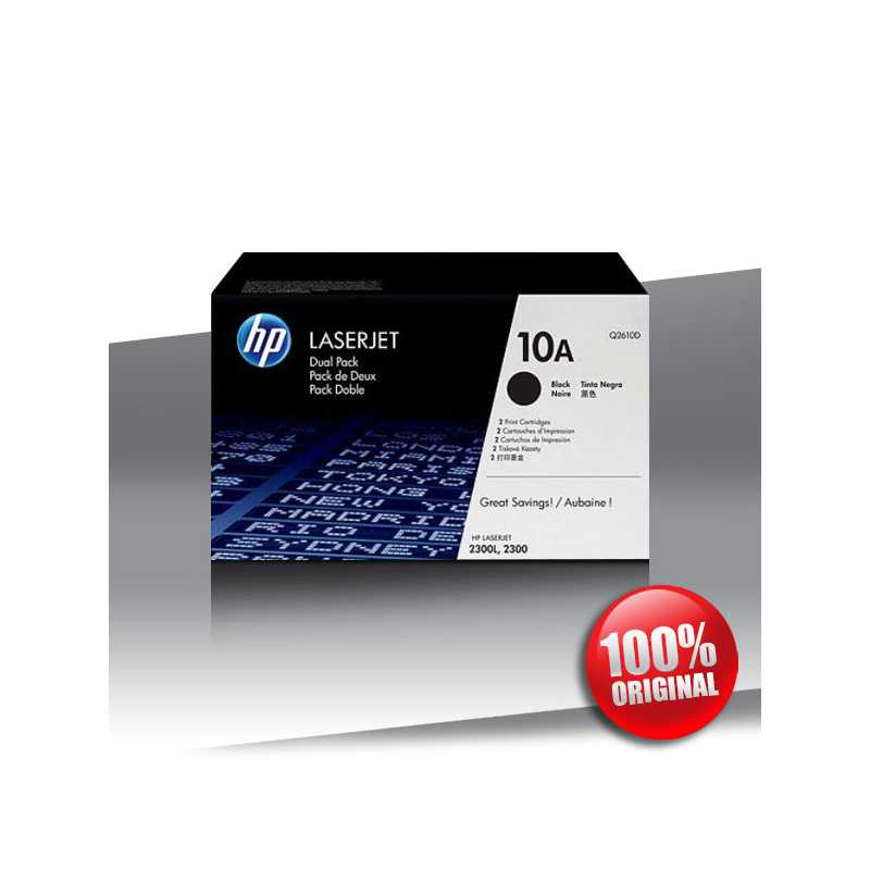 Toner HP 10A (2300) LJ dual pack BLACK 2x6K
